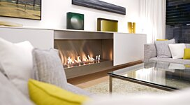 XL1200 Top Tray Fireplace Tray - In-Situ Image by EcoSmart Fire