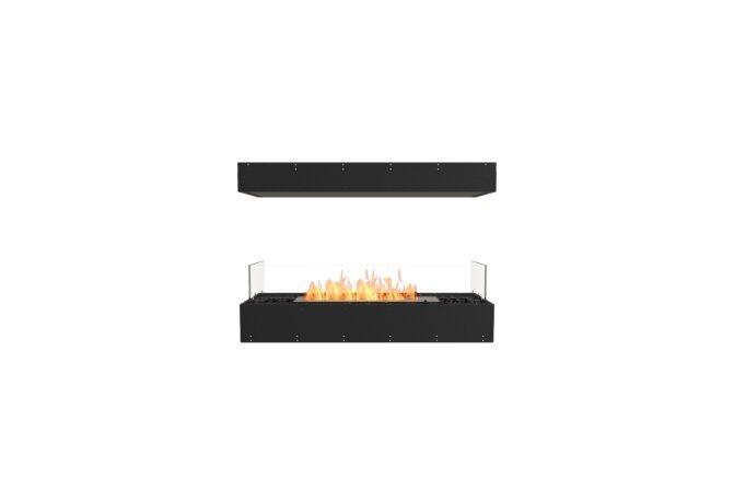 Flex 42IL Island - Ethanol / Black / Uninstalled View by EcoSmart Fire