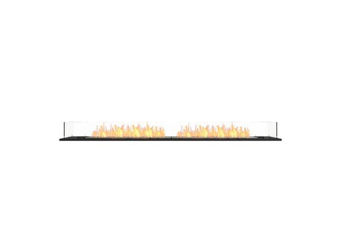 Flex 86BN Bench - Ethanol / Black / Installed View by EcoSmart Fire