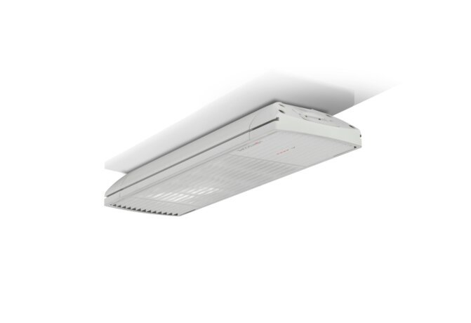 Spot 1600W Radiant Heater - White / White - Flame Off by Heatscope