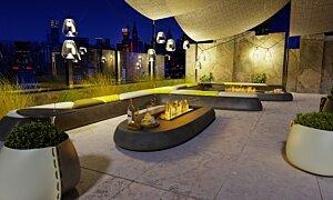 Linear 50 Fireplace Insert - In-Situ Image by EcoSmart Fire