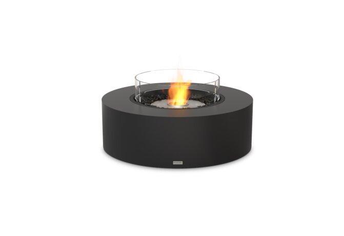 Ark 40 Fire Pit - Ethanol / Graphite / Optional Fire Screen by EcoSmart Fire