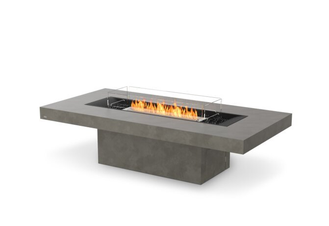 Gin 90 (Chat) Fire Pit - Ethanol / Natural / Optional Fire Screen by EcoSmart Fire