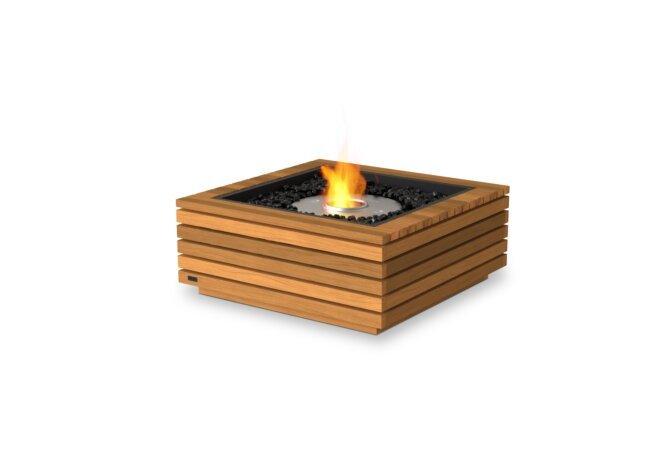 Base 30 Fire Pit - Ethanol / Teak by EcoSmart Fire