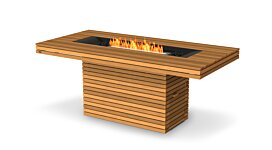 Gin 90 (Bar) Fire Pit - Studio Image by EcoSmart Fire