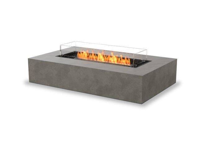 Wharf 65 Fire Pit - Ethanol - Black / Natural / Optional Fire Screen by EcoSmart Fire