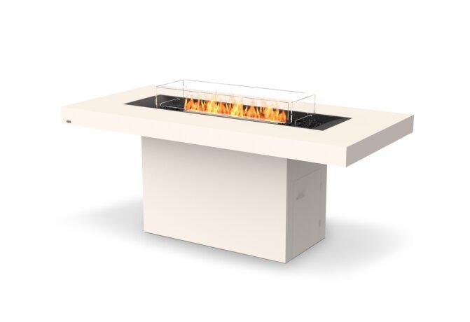 Gin 90 (Bar) Fire Pit - Ethanol - Black / Bone / Optional Fire Screen by EcoSmart Fire
