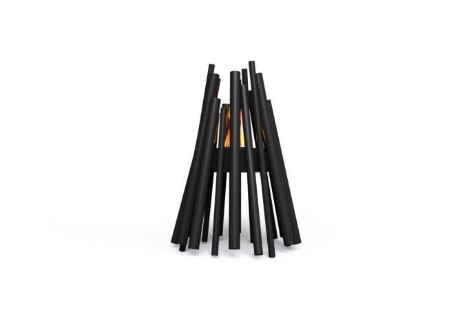 Stix Fire Pit - Ethanol / Black by EcoSmart Fire