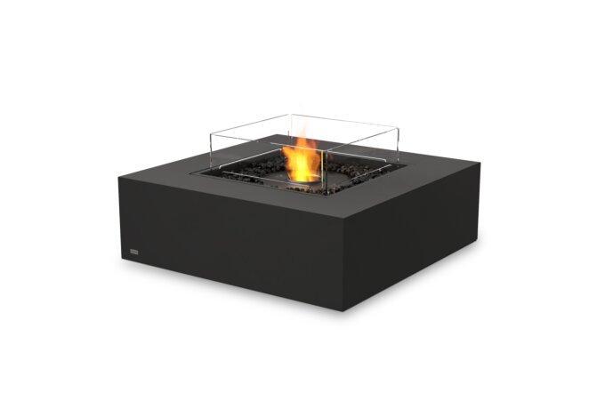 Base 40 Fire Pit - Ethanol - Black / Graphite / Optional Fire Screen by EcoSmart Fire
