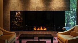 XL1200 Ethanol Burner - In-Situ Image by MAD Design Group