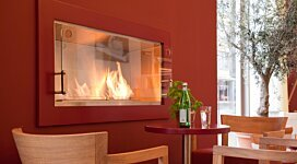 Echo Fireplace Screen - In-Situ Image by MAD Design Group
