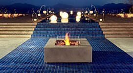 Base Fire Pit Table - In-Situ Image by EcoSmart Fire