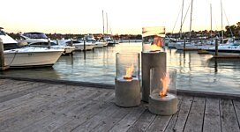 Lighthouse 300 Fire Pit - In-Situ Image by EcoSmart Fire