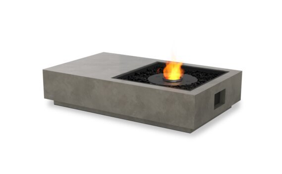 Manhattan 50 Fire Pit - Ethanol - Black / Natural by EcoSmart Fire