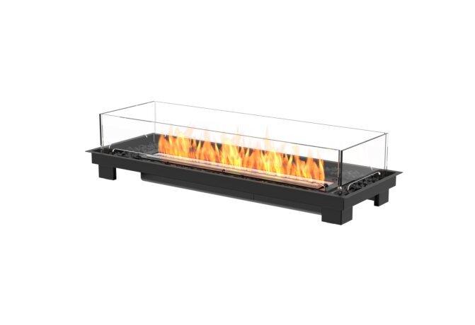 Linear 50 Fireplace Insert - Ethanol - Black / Black by EcoSmart Fire
