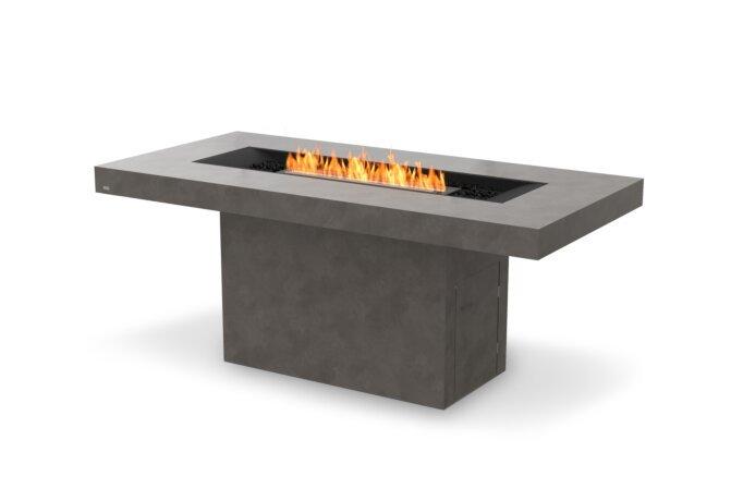 Gin 90 (Bar) Fire Pit - Ethanol - Black / Natural by EcoSmart Fire