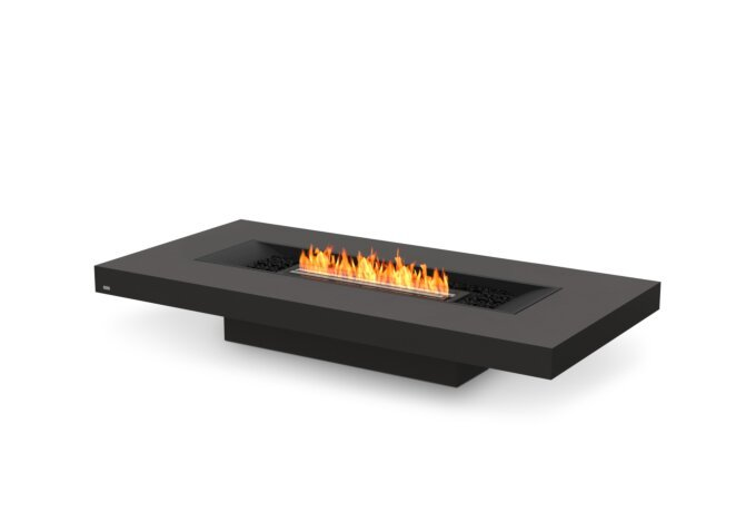 Gin 90 (Low) Fire Pit - Ethanol - Black / Graphite by EcoSmart Fire