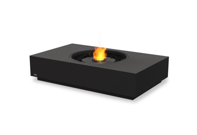 Martini 50 Fire Pit - Ethanol - Black / Graphite by EcoSmart Fire