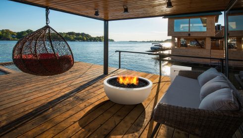Get the perfect outdoor temperature