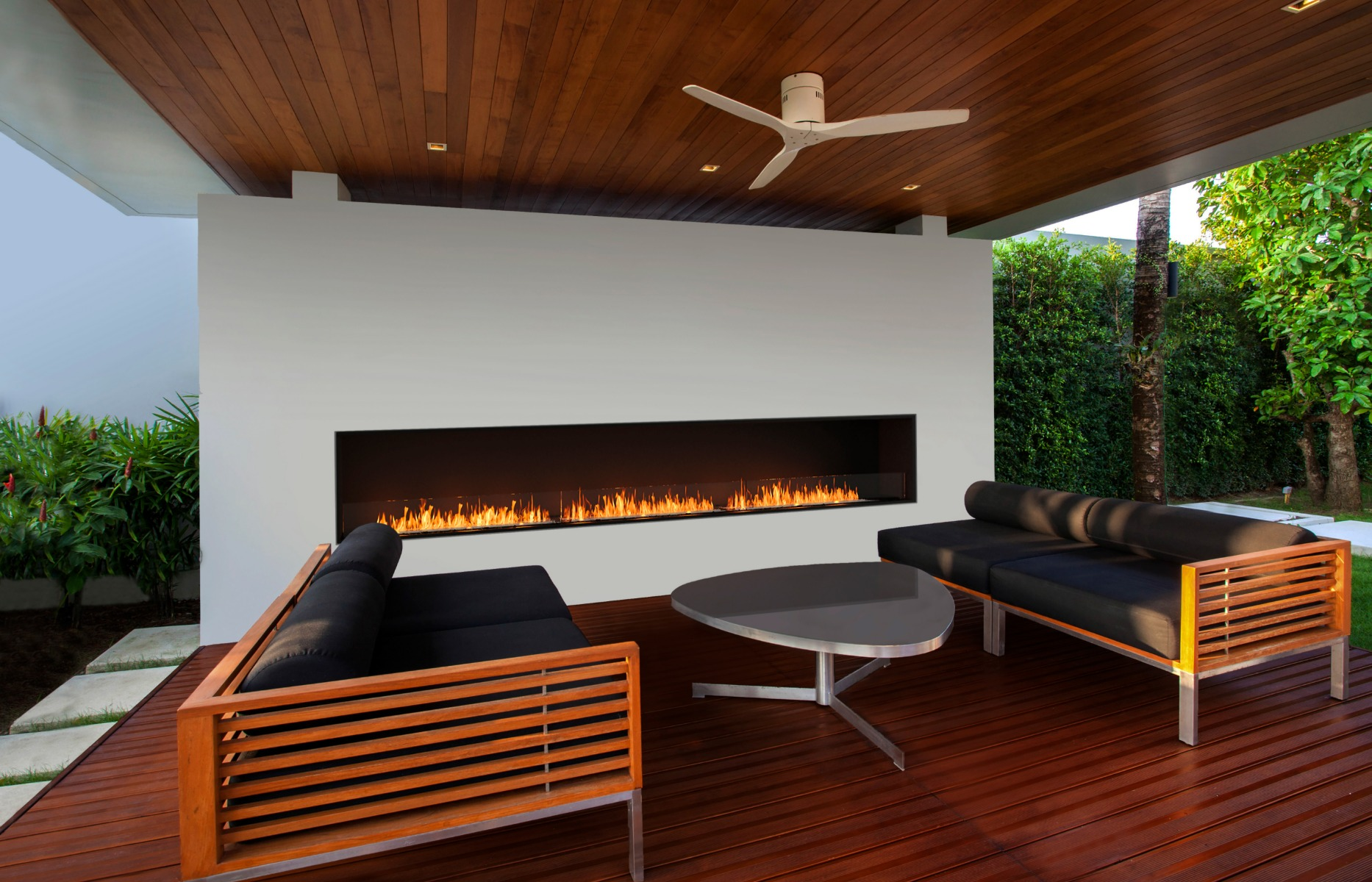 EcoSmart Fire Flex 158SS single sided fireplace insert